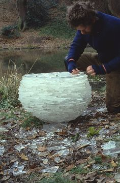 Andy Goldsworthy (Ice sculpture)