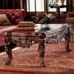 also very cool coffee table.