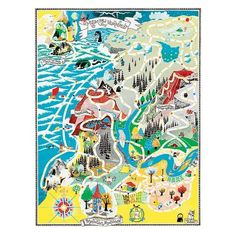 We have picked out the best artwork by Tove Jansson from the 1940s to the 1970s and reprint them as high quality posters. Decorate your home or give a poster as