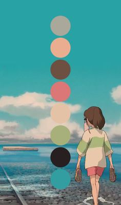 A blog dedicated to the colour palettes of Studio Ghibli. mod: hyrulians