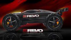 Traxxas E-Revo 16.8V RTR Monster Truck w/Traxxas Link 2.4Ghz & Batteries