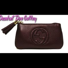 Gucci Soho Burgundy Leather Tassel Case Wallet Gucci Soho Burgundy Leather Tassel Case Wallet NEW  100% authentic  Made in Italy  Includes authenticity card and Gucci box.  No Holds  No Trades  No Paypal. ✅ Reasonable offers accepted! Gucci Bags Wallets