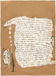 Saul Steinberg American, born Romania, 1914-1999, Untitled (Braque, bric-a-brac...)