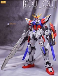 MG 1/100 Star Build Strike Gundam + Universe Booster - Customized Build