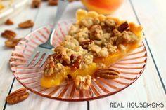 Peach Crumble Tart