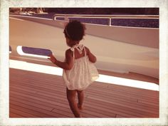 Stylish little kid: Blue Ivy Carter