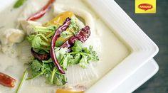 Tom Kha soup // Supa Thailandeza Tom Kha  Afla si mai multe retete savuroase pe https://www.maggi.ro/retete si descopera sugestii culinare inedite pe pagina noastra de Facebook www.facebook.com/MAGGI.Romania