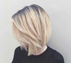 Blonde Bob Haircut