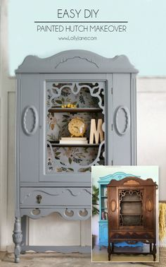 Gorgeous gray hutch