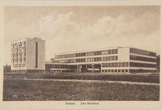 Postkarten mit Motiv Bauhaus-Dessau, 1936-41 Bauhaus Dessau