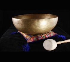 Tibetan Singing Bowl - Dewa - 12cm diameter Hand hammered in Nepal in Collectables, Religion/ Spirituality, Buddhism | eBay!