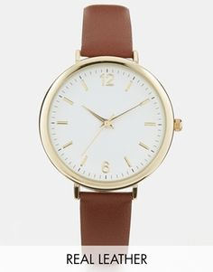 Enlarge ASOS Premium Leather Watch