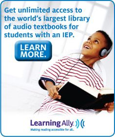 Learning Through LIstening- CLassroom Tools: Sound Advice  Get unlimited access to the world's largest library of audio textbooks for students with an IEP. Learn more at Learning Ally.