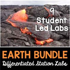 Earth differentiated station labs.  9 different student led labs that teach students about Earth science including: continental drift, plate boundaries, density, rock cycle, properties of minerals, topographic maps, erosion, weathering and the Earth's layers
