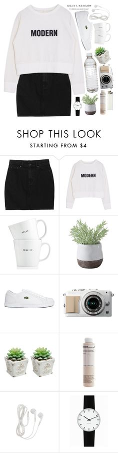 """Geen titel #227"" by sophievalk ❤ liked on Polyvore featuring Monki, The Cellar, Torre & Tagus, Lacoste, Korres and Rosendahl"