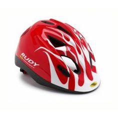 Casco de Ciclismo Rudy Project para niño Jockey rojo-blanco | Trimundo  $804.00