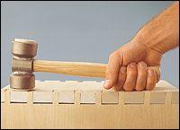 Veritas® Cabinetmaker's Mallet - Woodworking