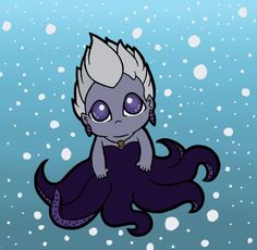 Disney Villains - Ursula by ~ChibiMagics on deviantART Edie might love this!