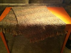 First prayer shawl