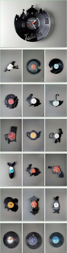recycled records - For those who remember what a record is!  )