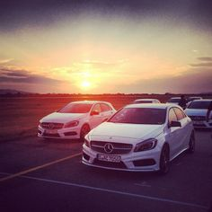 I was testdriving the brandnew Mercedes Benz A-Class in Slovenia! #mbaclass