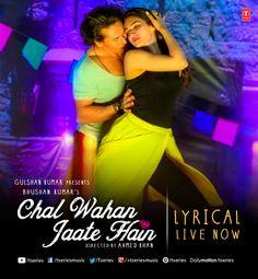 """Aasman ke parre ek jahaan hai kahin Jhooth sach ka wahan kayda hi nahi""  Lyrics that would not only touch heart but also your soul #ChalWahaanJaateHain --> http://bit.ly/1OE91a4  #TseriesMusic #ArijitSingh #TigerShroff #KritiSanon #Lyrical"