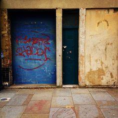 photo: Little Door Ios App, Garage Doors, London, Colour, Outdoor Decor, Instagram, Home Decor, Color, Decoration Home