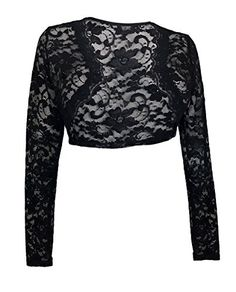 eVogues Plus Size Black Long Sleeve Lace Cropped Bolero Shrug - 1X eVogues Apparel http://www.amazon.com/dp/B003HP4TO8/ref=cm_sw_r_pi_dp_1fz5ub0P92NV6