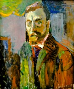 Henri Matisse - Self Portrait, 1900 at Centre Pompidou, Paris