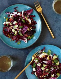 Justin Severino's Recipe for Radicchio, Blood Orange and Goat Cheese Salad
