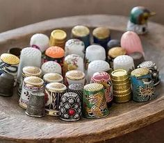 Thimble collection.