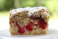 pass the peas, please: apple cranberry cake