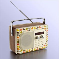Orla Kiely and a Pure radio in one, even gives Roberts a run for it's money.