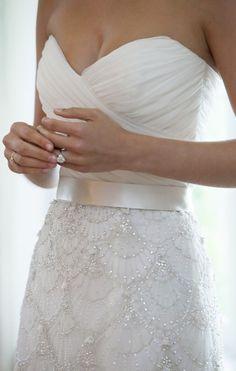 Embellished Wedding Dress so beautiful!