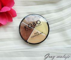 KOBO Professional Face Contour Mix - pokrótce o konturowaniu na mokro