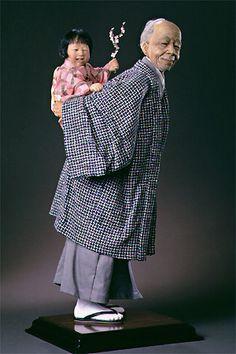 Art dolls. Grandfather's Blossom by Creager Studios - Jodi & Richard Creager
