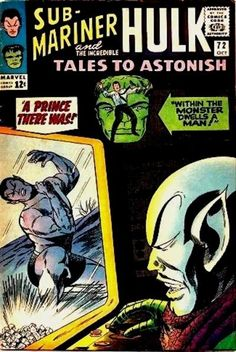 Tales to Astonish #72 Marvel Comics Group October 1965 $.12