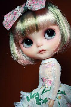 OOAK Custom Blythe Doll 109 Rosebud by G Baby | eBay