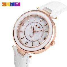 https://www.i-sabuy.com/ นาฬิกาแฟชั่นผู้หญิง ยี่ห้อ SKMEI รุ่น 1059 สีขาว