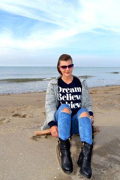 Cardigan and   Sweatshirt by Shein