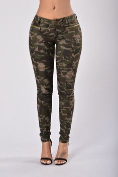 f5d5ede0d41ed8 Army Brat Skinny Jeans - Camo Army Jeans, Clothes To Order, Fashion Killa,