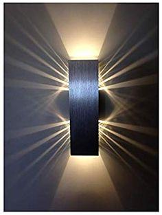 Design mural murale éclairage de salon wandstrahler wandspot flurlampe verre