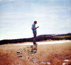 Joel Robison's Whimsical Photographic Abstractions of the Joy of Reading