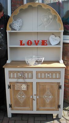 Shabby Chic Jaycee Welsh Farmhouse Dresser Rustic Country Kitchen Laura Ashley | eBay