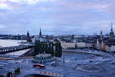 Almost midnight at Stockholm