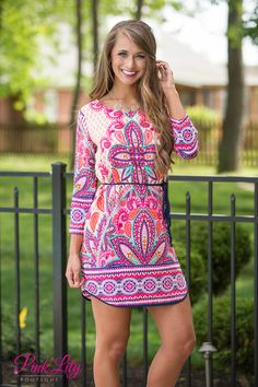 Summer Sweetheart Dress Pink - The Pink Lily