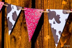 Western Garland Cowboy Party Decoration Western by Craftytude Cowboy Party Decorations, Cowboy Theme Party, Cowboy Birthday Party, Farm Birthday, Farm Party, Western Decorations, Western Party Centerpieces, Pirate Party, Country Birthday