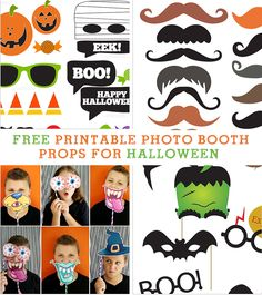 Free Printable Photo Booth Props For Halloween Halloween Photo Booth Props, Halloween Class Party, Halloween Photos, Halloween Boo, Halloween Birthday, Halloween Games, Holidays Halloween, Halloween Crafts, Happy Halloween