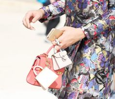 MICRO BAG #delvaux #streetstyle
