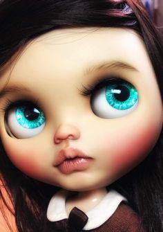 Blythe Vespa Retro, Chatty Cathy, Custom Dolls, Blythe Dolls, Baby Dolls, Poppies, Carving, Handmade Dolls, Pastels